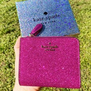 NewInBox💞Kate Spade Glitter Wallet